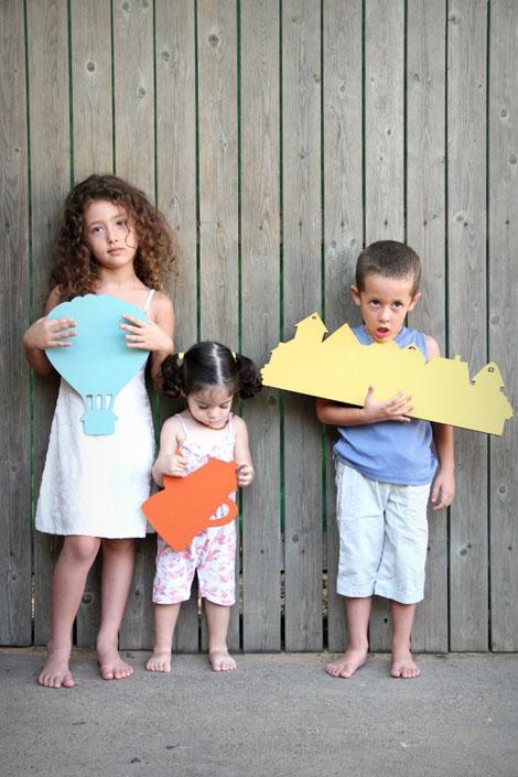ילדים על הגדר