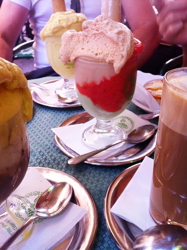 גלידה ברומא