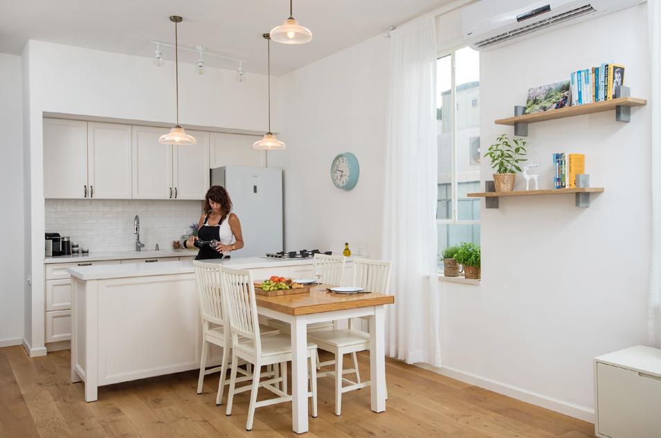 5 מטבח ושולחן מהסלון