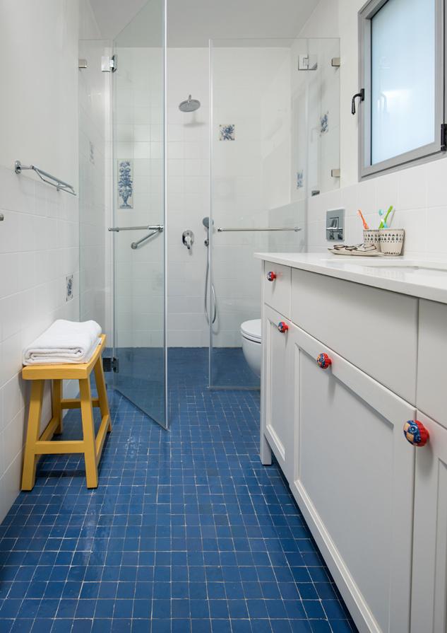 מקלחת הורים לכיוון המקלחון